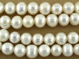 Ivory Potato Pearl Beads 9mm (PRL140)