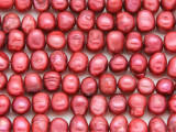 Dark Pink Irregular Pearl Beads 8mm (PRL155)