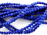 Lapis Lazuli Round Gemstone Beads 2mm (GS3176)