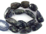 Iolite Nugget Gemstone Beads 9-23mm (GS3194)