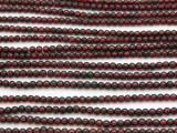 Garnet Round Gemstone Beads 3mm (GS3217)