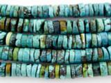 Turquoise Heishi Beads 9-11mm (TUR1074)