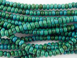 Turquoise Rondelle Beads 3mm (TUR1127)