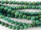 Turquoise Round Beads 6mm (TUR1130)