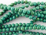 Turquoise Round Beads 4mm (TUR1136)