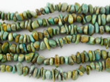 Turquoise Chip Beads 2-6mm (TUR1143)