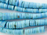 Turquoise Graduated Heishi Beads 3-8mm (TUR1094)