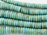 Turquoise Graduated Rondelle Beads 3-10mm (TUR1095)