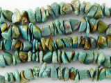 Turquoise Chip Beads 4-9mm (TUR1150)