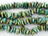 Turquoise Chip Beads 6-11mm (TUR1154)