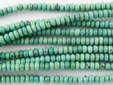 Turquoise Rondelle Beads 3-4mm (TUR1112)