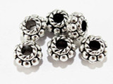 Pewter Bead - Spacer 5mm (PB409)