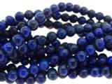 Lapis Lazuli Round Gemstone Beads 3-4mm (GS3245)