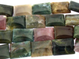 Fancy Jasper Tabular Gemstone Beads 15mm (GS3309)
