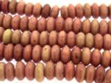 Rhodochrosite Rondelle Gemstone Beads 10mm (GS3264)