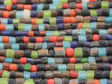 Multi-Color Cylinder Glass Beads 2-4mm (JV969)