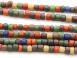 Multi-Color Graduated Glass Beads 4-8mm (JV1029)