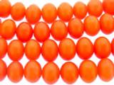 Orange Amber Rondelle Resin Beads 15mm (RES587)