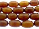 Brown Barrel Resin Beads 15mm (RES557)