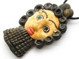 Phoenician Mask Face Pendant 83mm (CB502)