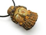 Phoenician Mask Pendant 53mm (CB510)
