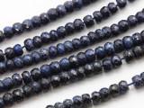 Sapphire Rondelle Gemstone Beads 4mm (GS3412)