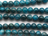 Apatite Round Gemstone Beads 8mm (GS3312)