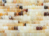 Opal Graduated Rondelle Gemstone Beads 2-6mm (GS3414)