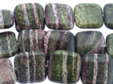 Purple Silver Line Jasper Square Gemstone Beads 19mm (GS3318)