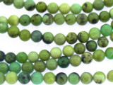 Chrysoprase Round Gemstone Beads 6mm (GS3339)