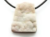 Agate Geode Gemstone Pendant 32mm (GSP402)