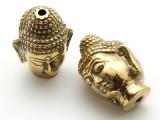 Brass Buddha Amulet 35mm (AP1470)