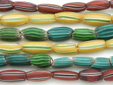 Watermelon Trade Beads - 3 strands (AT906)