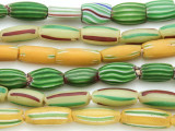 Watermelon Trade Beads - 3 strands (AT910)