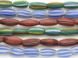 Watermelon Trade Beads - 3 strands (AT917)