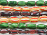 Watermelon Trade Beads - 3 strands (AT939)