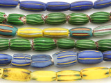 Watermelon Trade Beads - 3 strands (AT941)