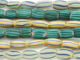 Watermelon Trade Beads - 3 strands (AT919)