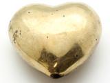 Brass Heart Amulet 43mm (AP1508)