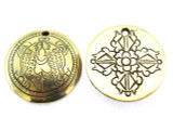 Rare Tibetan Dorje Amulet 29mm (AP1512)