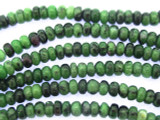 Ruby Zoisite Rondelle Gemstone Beads 5mm (GS3450)