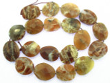 Brandy Opal Faceted Gemstone Beads 14-17mm (GS3469)