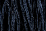 "Dark Slate Blue Hand Stitched Silk Fairy Ribbon 42"" (SK1018)"