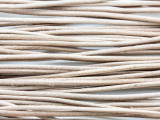 "Natural Leather Cord 2mm - 72"" (LR20)"