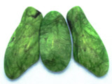 Green Magnesite Gemstone Pendants - Set of 3 (GSP428)