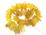 Natural Copal Amber Stick Beads 15-30mm (AB46)
