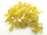 Natural Copal Amber Stick Beads 20-33mm (AB47)