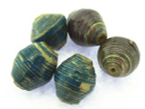 Jeweltone Recycled Paper Beads 15mm (PA86)