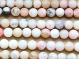 Pink Opal Round Gemstone Beads 8mm (GS3486)