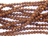 Brown Goldstone Round Gemstone Beads 4mm (GS3516)